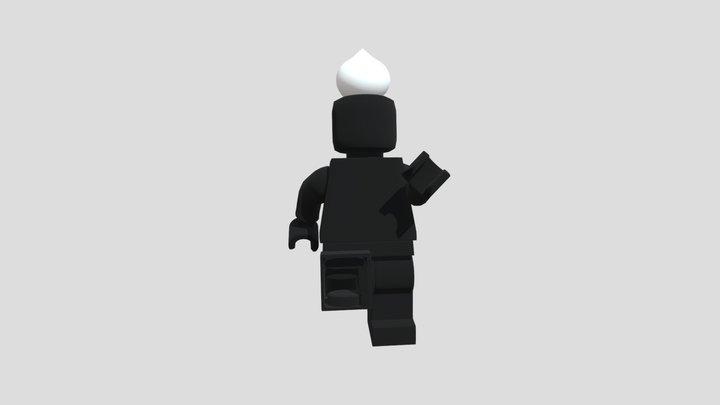 Minifig 3D Model