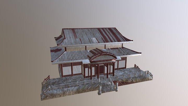 Shuri Castle 3D Model