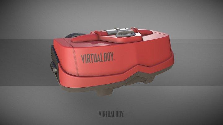 Virtual Boy 3D Model
