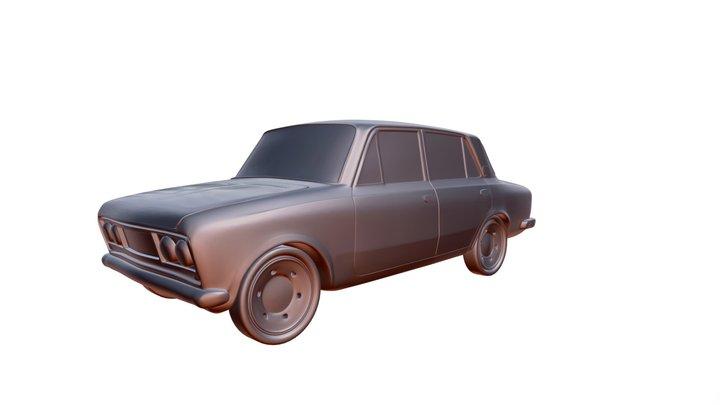 VAZ 2103 ( Lada ) 3D printable car model 3D Model