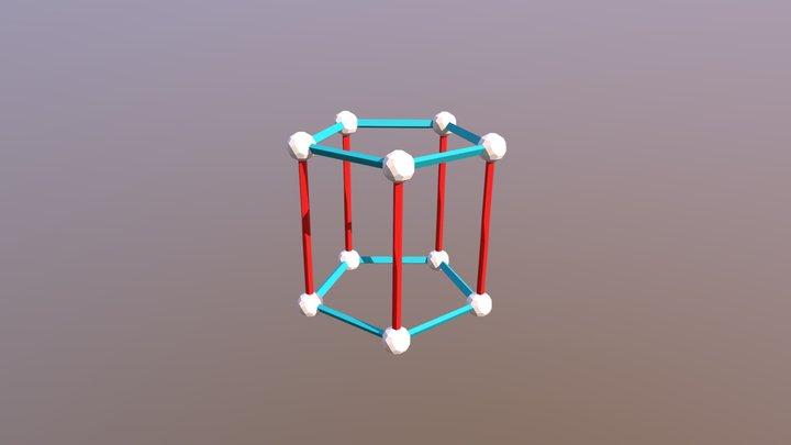 10 15 0- Pengagonal Prism 3D Model