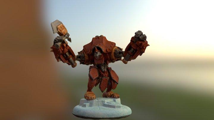 Warmachine - Juggernaut 3D Model