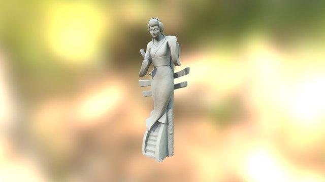 Geisha 3D Model