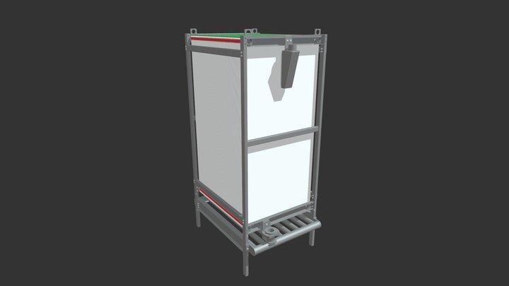 BIO-CEL L-2 Complete Assembly 3D Model