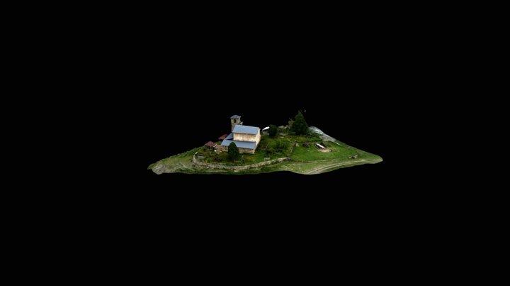 Tsvirmi. Church of the Saviour. 3D Model
