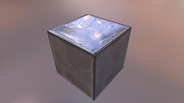 Metal box 3D Model
