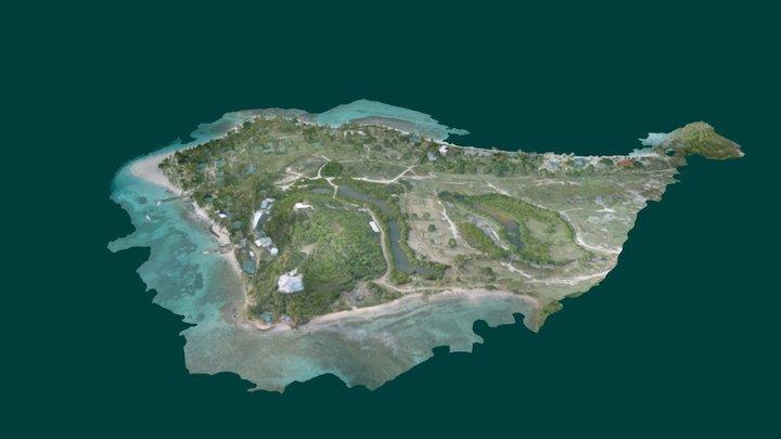 Palm Island Mavic - June 18 2017 3D Model