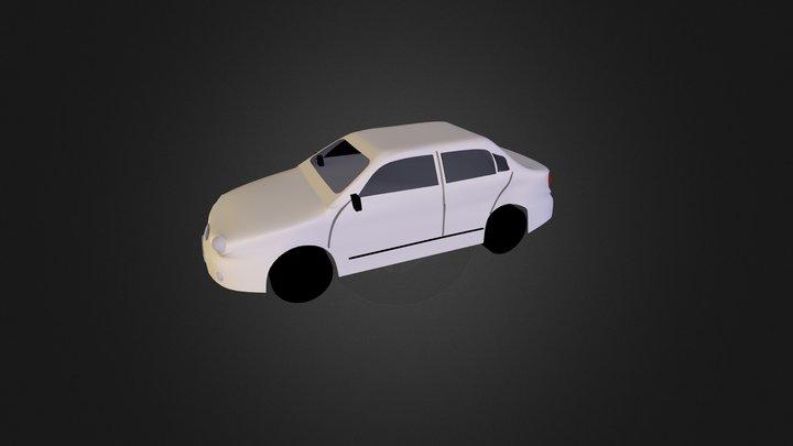 Hyundai Elantra 3D Model