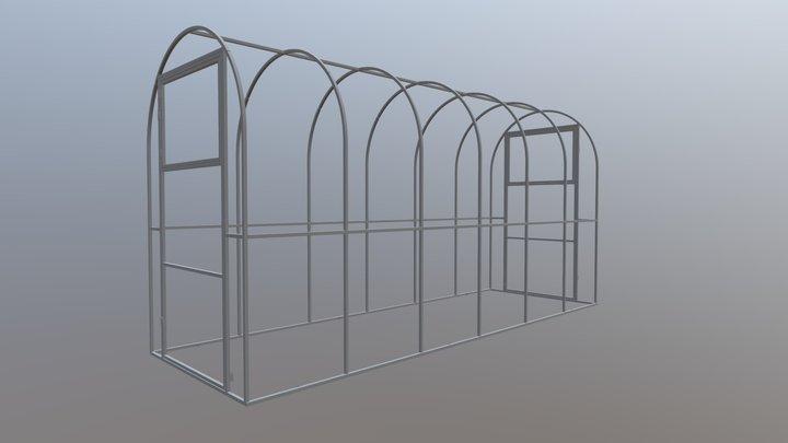 31 разборная 1600 (шаг 650) 3D Model