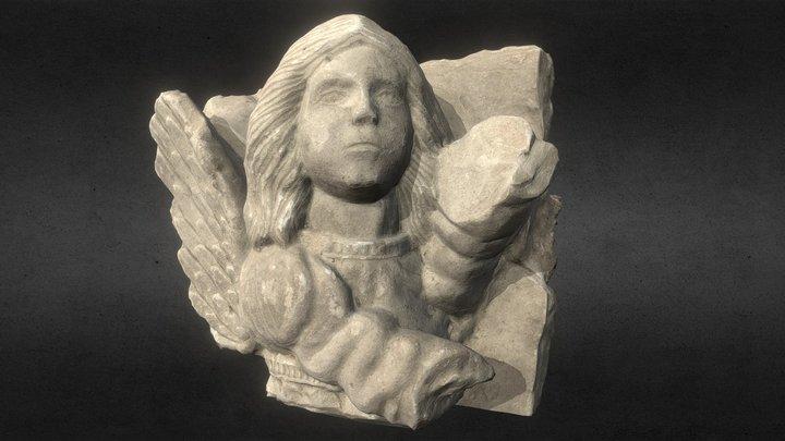 Yesería de un Angel 3D Model