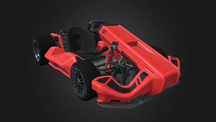 Garrysmod Go-Kart 3D Model
