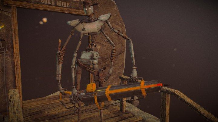 Mike - the Deputy 3D Model