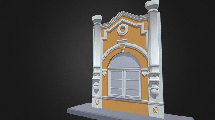 Front building 3D Model