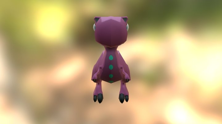 Frip The Dinosaur 3D Model