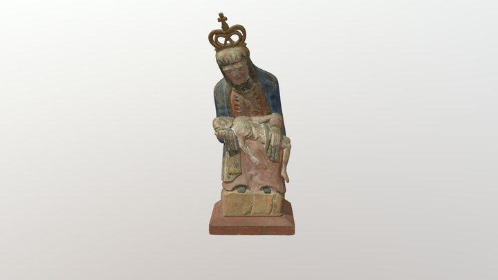 Pieta. XIX a. II p. 3D Model