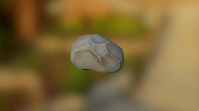 Lowpoly Rock 3D Model