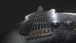 Guitar_Electric 3D Model