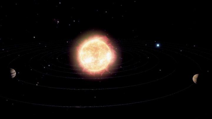 Solar sistem 3D Model