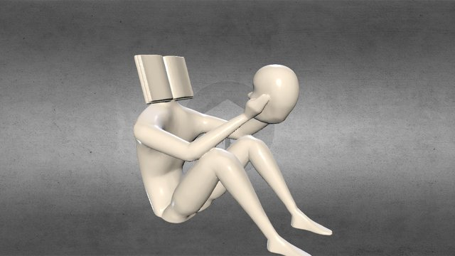 Reading Yourself 3D Model