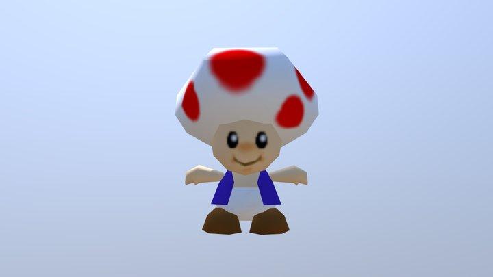 Toad 3D Model