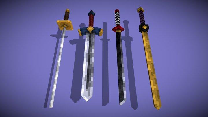 Sword Pack 3D Model