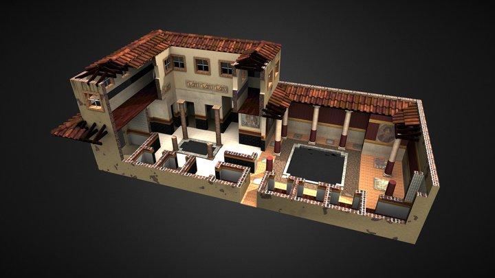 Roman House 3D Model