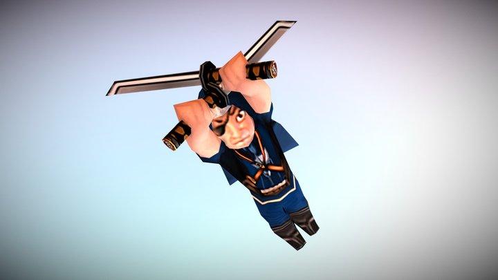 HGs Pack => Assassin 3D Model