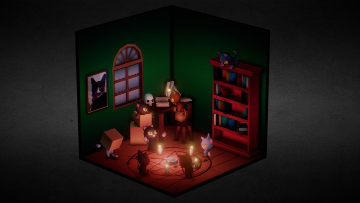 The Ritual 3D Model