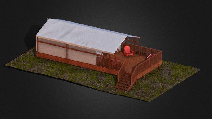 Robinson Site Tent 3D Model