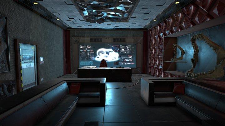 Deus Ex - Fan Art 3D Model
