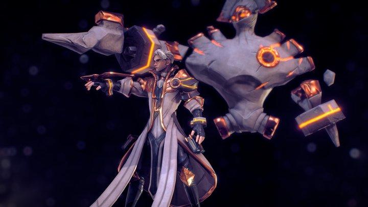Shardbound - Venerator Wynn 3D Model