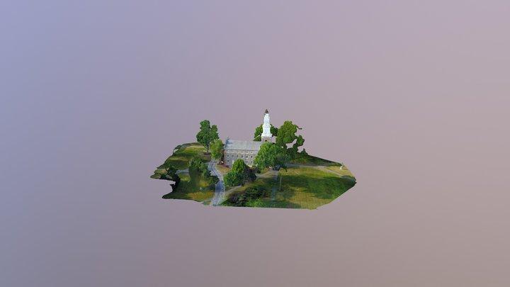 Hamilton College Chapel 3D Model