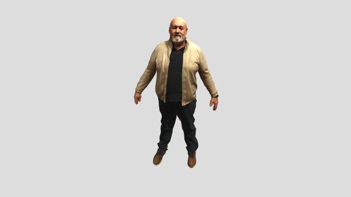 Paco 3D Model