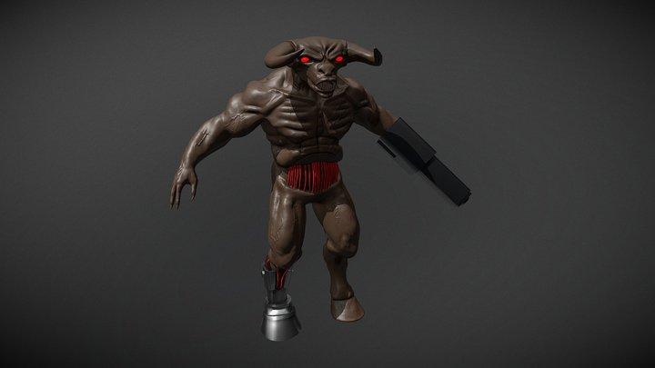 Cyberdemon Interpretation 3D Model