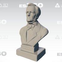 Wagner 3D Scan, by Afinia ES360 3D Scanner 3D Model