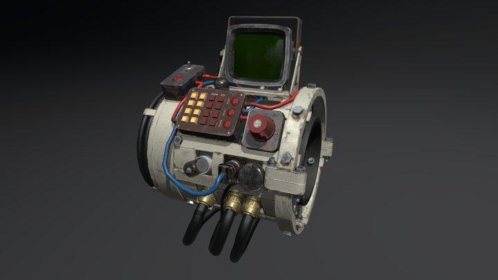 pipboy_v1 unfinished 3D Model
