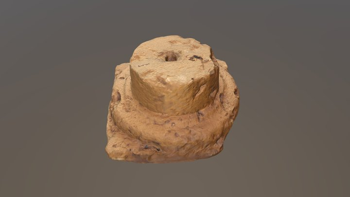 Base of roman column 3D Model