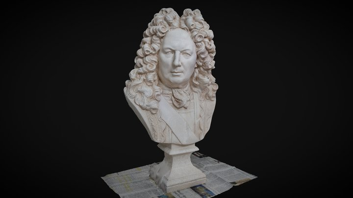 Vauban Bust 3D Model