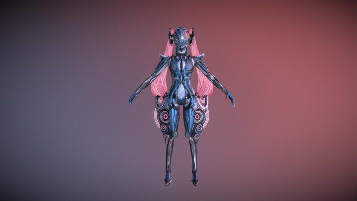 Octavia Diva (T-pose) 3D Model