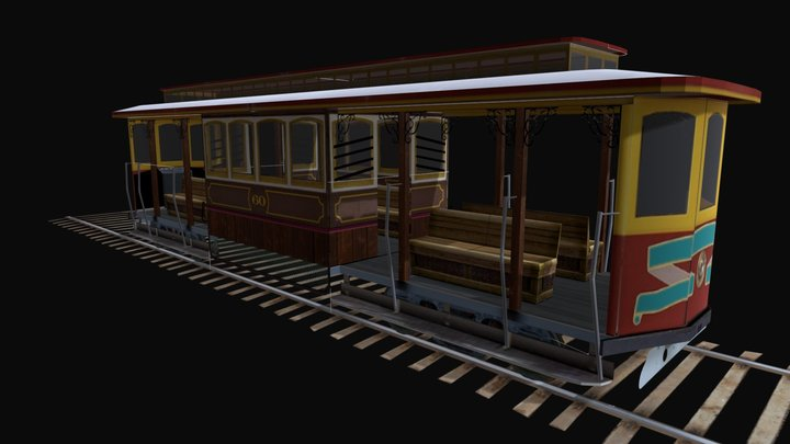 TRAIN 2 3D Model