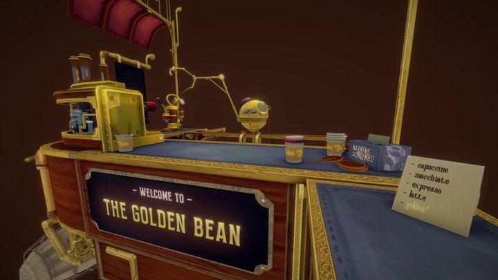 The Golden Bean 3D Model