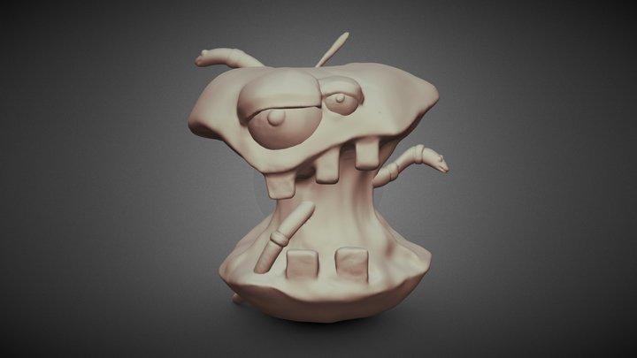 Day:4 Rotten Fruit 3D Model