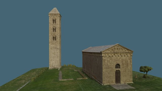 Eglise San Giovanni, 20170 Carbini 3D Model