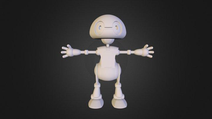 Jimmy the 21st Century Robot 3D Model