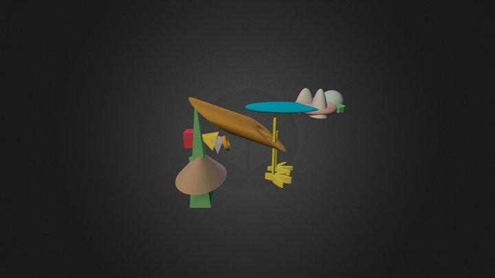 Pajarillo 3D Model