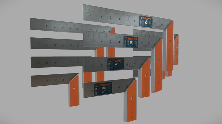 TRUPER - Try Square collection 3D Model