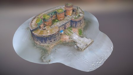 "Fort ""Alexander the First"" 3D Model"