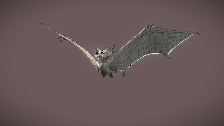 [GALOWEEN] Lili the Bat 3D Model