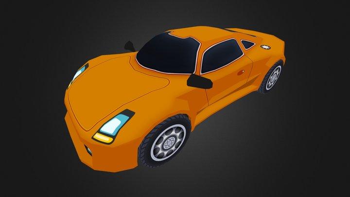 Street legal Race Car 3D Model