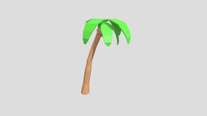 Philippines Travel Company - Palm Tree 3D Model